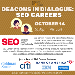 SEO Careers Advertisement, Gold and White